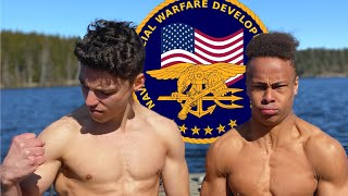 GYMNASTS TRIES THE NAVY SEALS TEST (ALMOST PUKED)