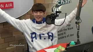 [171101] English Time with MC Jun & Chan on Arirang Radio K-POPPIN' IDOL CLASS 4