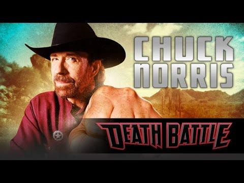 Chuck Norris Roundhouse Kicks Into DEATH BATTLE!
