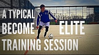 A Typical Become Elite Individual Training Session