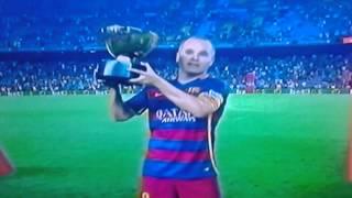 Barca campeón!!! Olé olé olé campeones