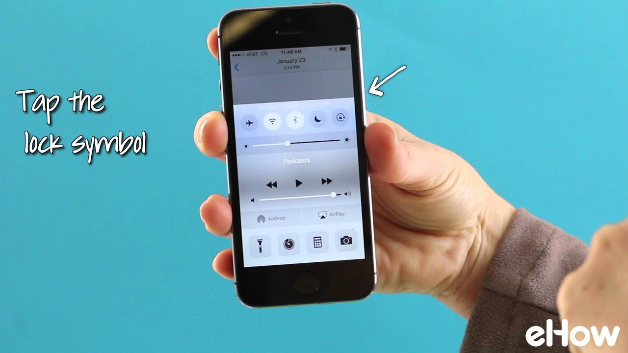Lock (or Unlock) Your iPhone's Orientation