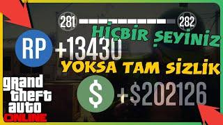 GTA Online - Hiçbir Şeyiniz Yoksa Tam Sizlik 202.126$ Taktiği