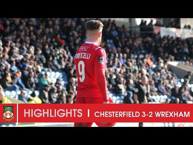 HIGHLIGHTS | Chesterfield 3 Wrexham AFC 2