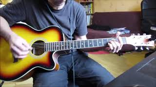 Another Brick in the Wall (Pink Floyd) cover acoustic guitar version Will Barber(The Voice)