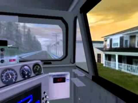 Trainz Simulator 2009 - Add On Indonesia Kabin Menthul2.flv