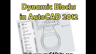 Creating Dynamic Blocks In Autocad - Mycadsite.com