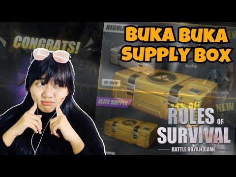 BUKA BUKA SUPPLY BOX ISI NYA MENGHARUKAN 😱 - RULES OF SURVIVAL INDONESIA