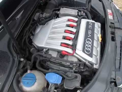 audi a3 3 2 v6 engine idle running test 68k miles youtube. Black Bedroom Furniture Sets. Home Design Ideas