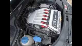 audi a3 3 2 v6 engine idle running test 68k miles
