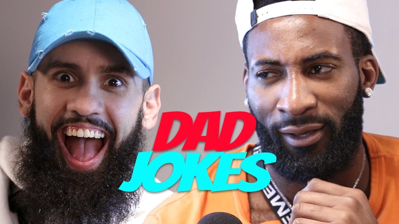 Dad Jokes | Andre Drummond vs. Dan Rue (Sponsored by Red Bull)