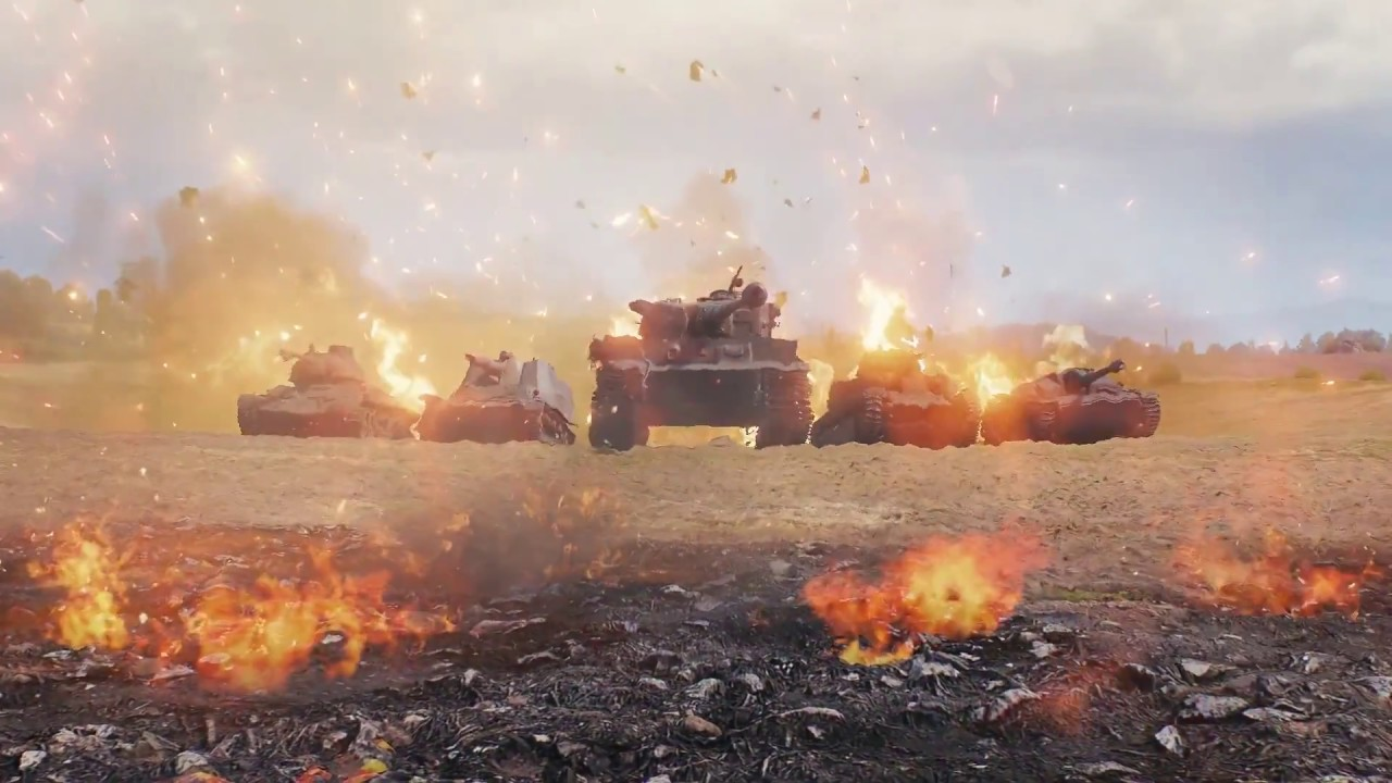 Download OST World of Tanks 1.0 – Intro Login 2018 (screen)