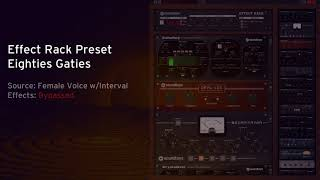 Free Effect Rack Preset: Eighties Gaties