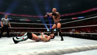 The Rock hits his finisher in WWE
