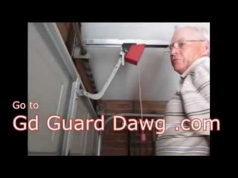 Garage Door Break In Zip Tie Fix Is Dangerous Youtube