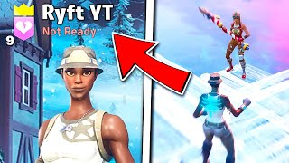 I Pretended to be Ryft While Editing Fast in Fortnite... (it worked)