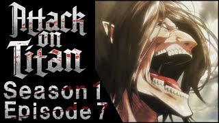 MY PARENTS REACT TO ATTACK ON TITAN - Season 1 Episode 7