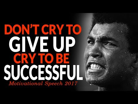 DON'T GIVE IN! – Powerful Motivational Speech For Success | 2017 MOTIVATION |