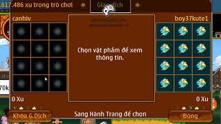 ►Ninja School Online | Hoán Chuyển Đồ 9x Cho CANHIV - Gang Tinh Luyện Cùi Bắp