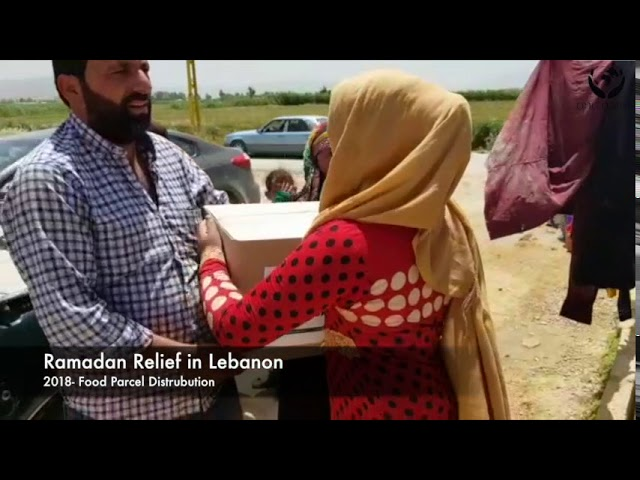 Ramadan Relief In Lebanon 2018 - Providing Food Parcels To Poor Families