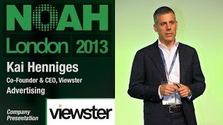 Download Kai Henniges - Co-Founder & CEO, Viewster - NOAH13