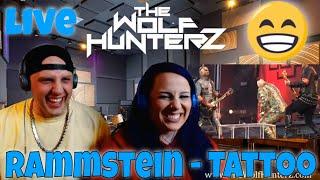 Rammstein - Tattoo (LIVE Europe Stadium Tour 2019) THE WOLF HUNTERZ Reactions
