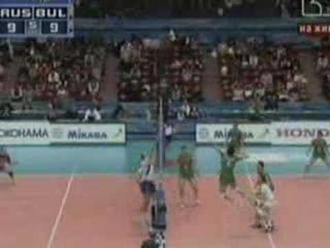 Bulgaria vs Russia -3:2 volleyball
