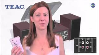 TEAC MC D800 Turntable Audio System   Presented by Cynthia Stone