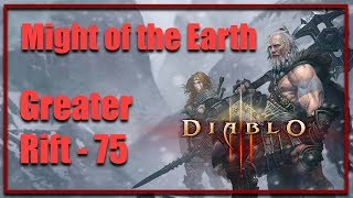 Diablo 3   Greater Rift 75   Came back after 2 years ??   Full Gameplay