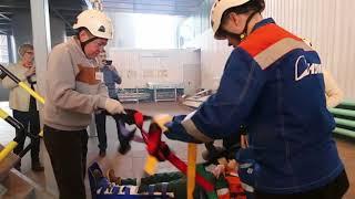 В филиале Группы Илим идет обучение добровольцев-спасателей