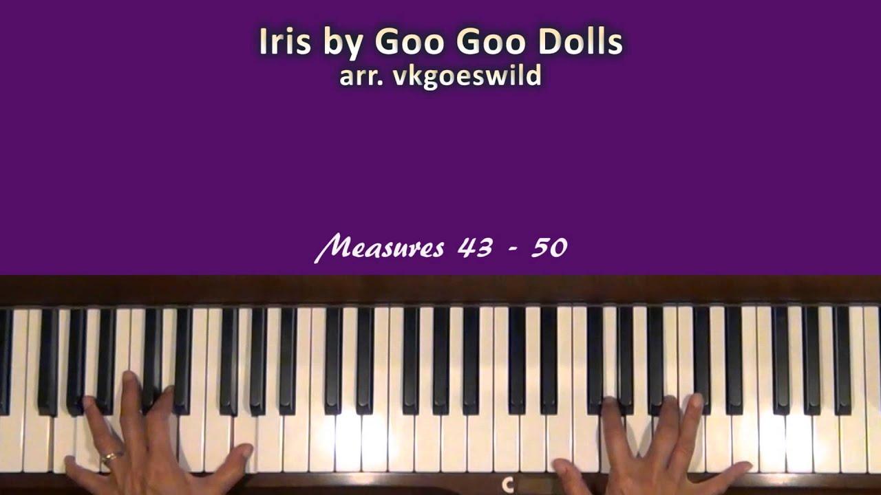 Goo goo dolls iris piano tutorial youtube goo goo dolls iris piano tutorial hexwebz Images