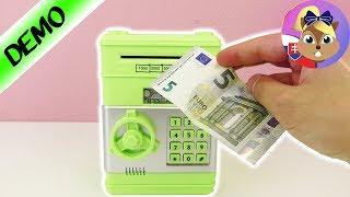 Pokladnička s heslom   Pokladnička bankomat   Trezor pre deti   Elektronická pokladnička   Sejf