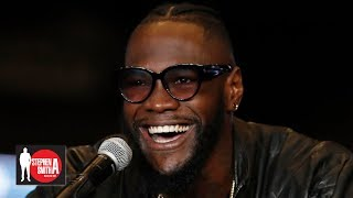 Deontay Wilder on WBC investigation: I can say what I please, I speak how I feel | Stephen A. Show