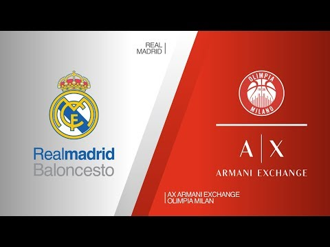 Real Madrid - AX Armani Exchange Olimpia Milan Highlights | EuroLeague RS Round 27