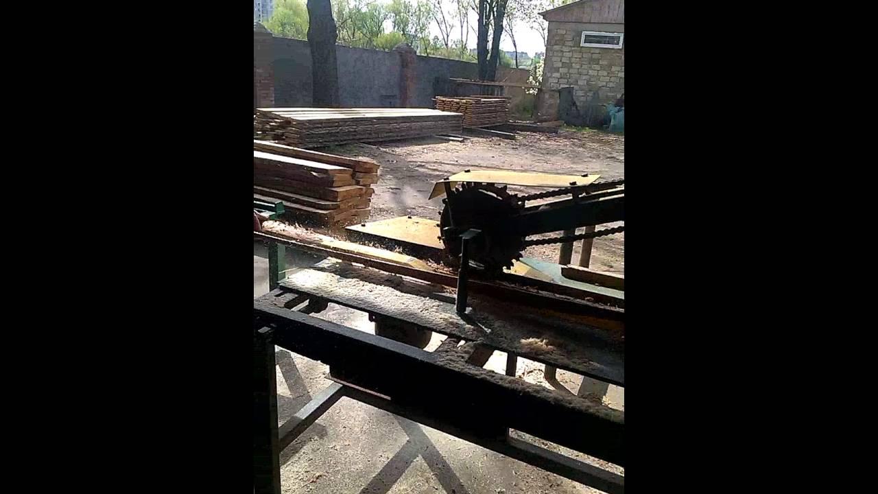 Горбыльный станок | Производство деревообрабатывающих станков .