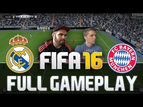 FIFA 16 REAL MADRID VS BAYERN MÜNCHEN FULL GAMEPLAY [HD+ 60F
