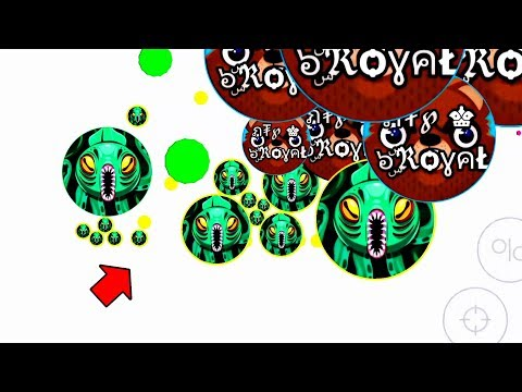 Most intense Uncut Ever! + Extreme tricks (Agar.io Mobile Gameplay!) thumbnail