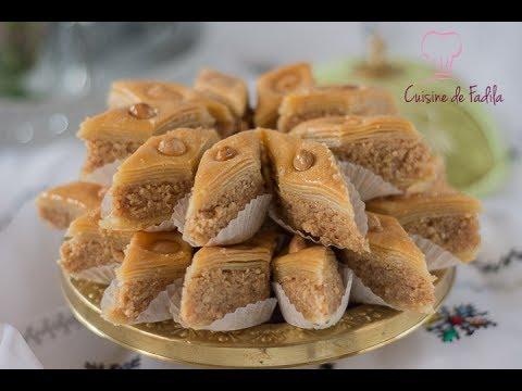 baklawa-aux-cacahuètes-(-baklava)