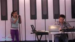 Прослушивание в Школе искусств МакSим ( Мария Ускова - 9 лет)