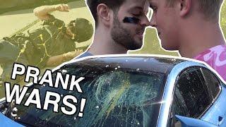 JAKE PAUL BROKE MY CAR!  *PRANK WARS*