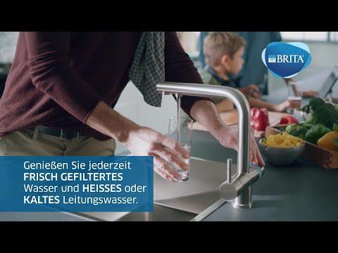 Entdecken Sie die neue BRITA Küchenarmatur mit integriertem Filter