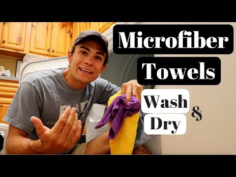 How To Wash and Dry Microfiber Towels Properly: Microfiber Maintenance!