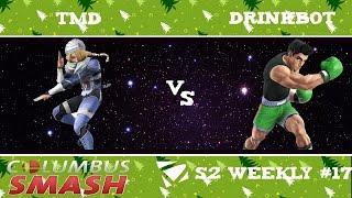 TMD vs DrinkBot  : Columbus Weekly 12/20/2016