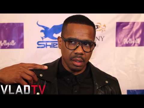 "Duane Martin Trolls Nelly on Red Carpet for ""Nellyville"" TV Show"