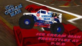 ror monster trucks ice cream man freestyles at p o d