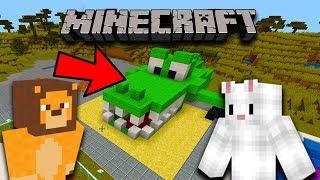 A APARUT UN CROCODIL La ZOO! Minecraft