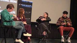 Zoey Deutch & Max Winkler, Flower, On the chemistry and working with Kathryn Hahn