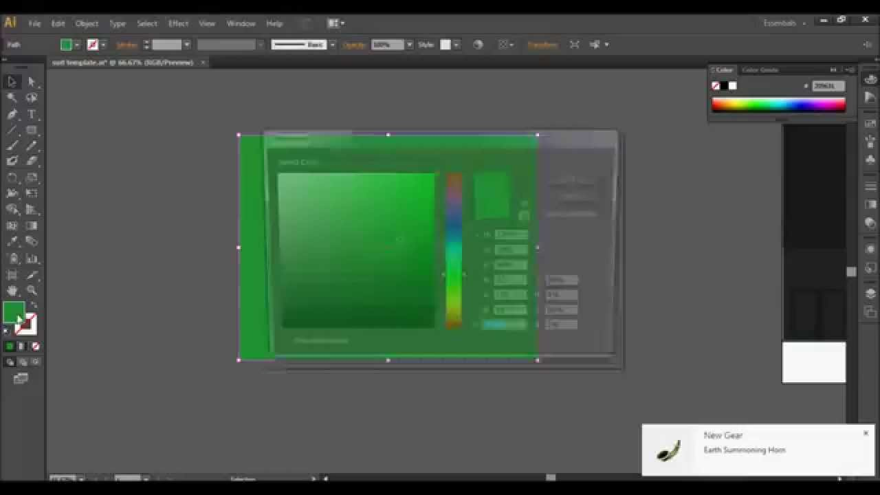 Adobe illustrator how to get bright colors (Dull color fix) - YouTube