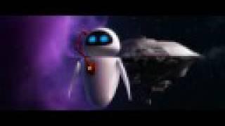 Wall-E - Extrait de la danse dans l'espace