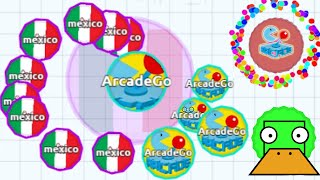 AGARIO EPIC EATING IN EXPERIMENTAL MODE Agar.io Funny Moments!